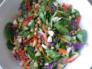 superfood sprouts salad