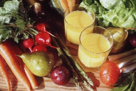 Juices can deliver a whopping great punch of valuable nutrients and enzymes into your body quickly and easily