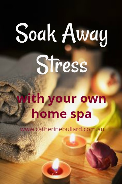 reduce stress with DIY home bath products