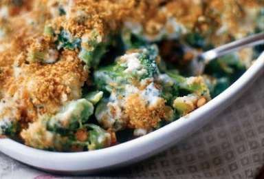 It looks tasty but broccoli, milk and wheat could all be causing your blaoting