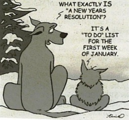 Just how worthwhile are New Years resolutions when 1st March rolls around?