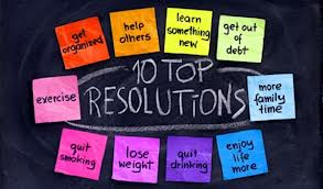Do these ring a bell for you? The top 10 resolutions made over the last 10 years have remained the same every year.