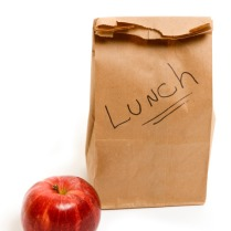 Paper bags - an alternative to plastic lunch boxes