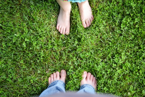 Have you ever noticed how good you feel when you take off your shoes to walk barefoot?  Photo credit: http://www.flickr.com/photos/hlkljgk/5760553436/