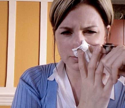 The very first indication you are coming down with a cold or flu is the time you need to take action. Photo credit: Flickr Sick Again by Miss Rogue
