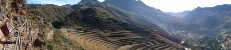 The superfood heartland, where chia, quinoa and other superfoods are cultivated in terraces around Cusco, Peru  Photo credit: Liana John