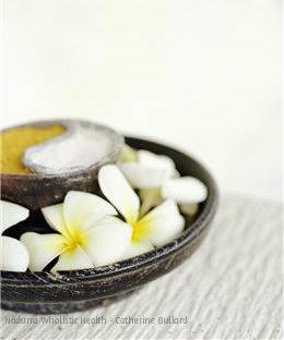 yin yang frangipani watermark