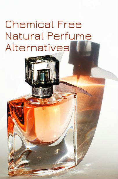 Chemical Free Natural Perfume Alternatives | happy holistic