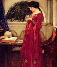 Copy of waterhouse_the_crystal_ball_skull