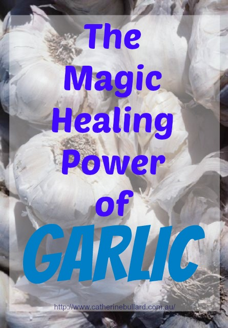 Garlic healing power