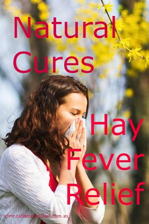 Natural Cures For Hayfever Relief
