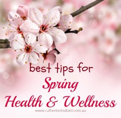 best tips for spring health and wellness