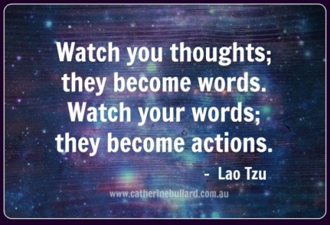 Watch your thoughts, they affect your health