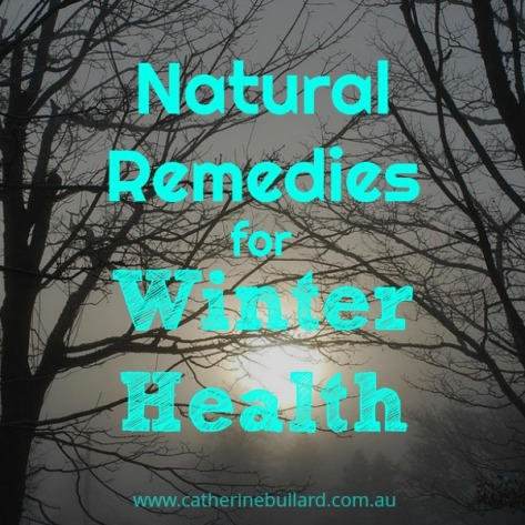 natural remedies for winter health